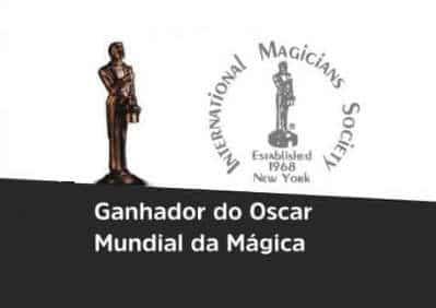 Marco Zanqueta Ganhador do Oscar da Mágica