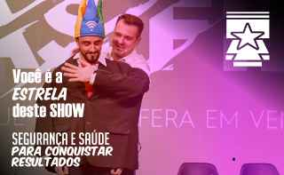 palestra de segurança do trabalho Marco Zanqueta Vc é a estrela